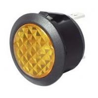 AMBER  LED WARNING LIGHT 12V     <br>ALT/SH14-02